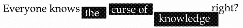 CurseOFknowledge