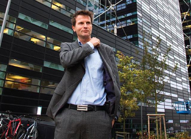 Roar Wiik Andreassen, divisjonsdirektør i Visma BPO