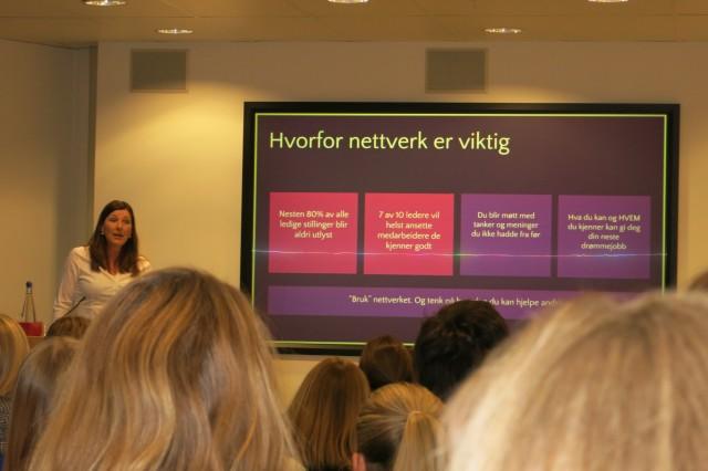 Anne Gretland forteller om viktigheten av å nettverke