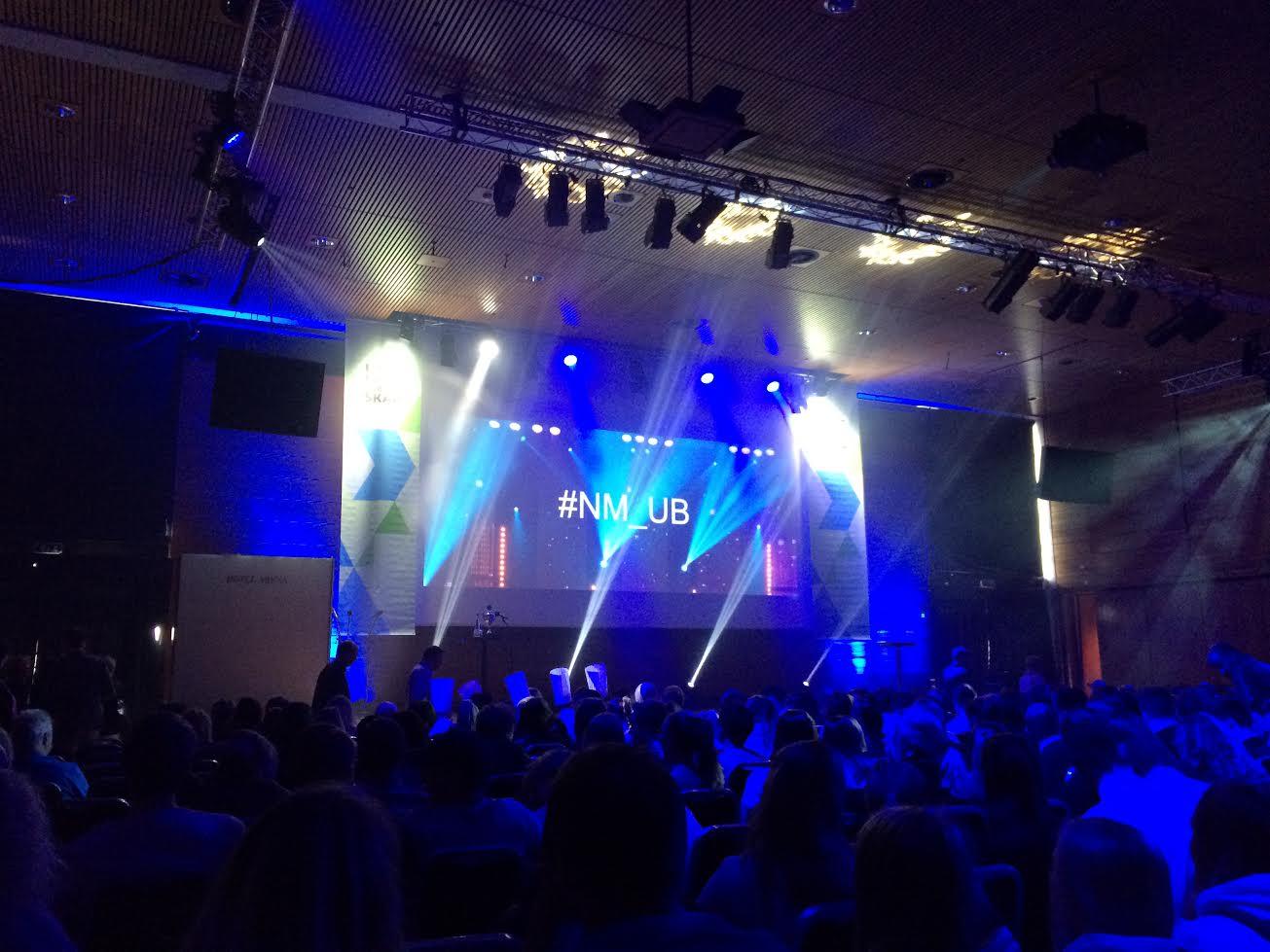 NM i Ungdomsbedrift på Thon Hotel Arena i Lillestrøm.