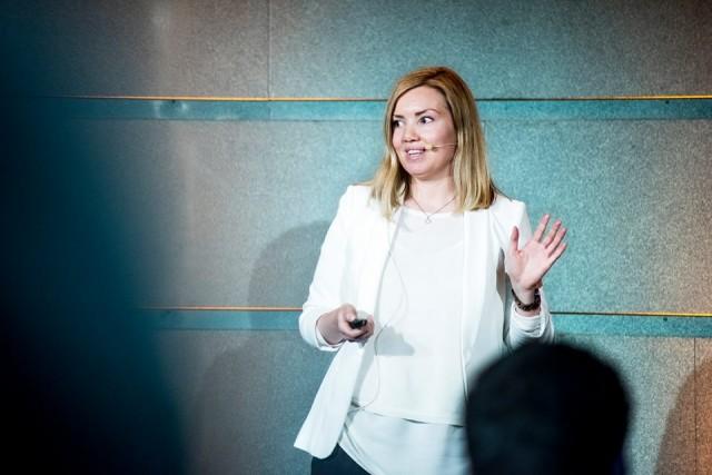 Lisa Skoglund fra Visma Software AS.