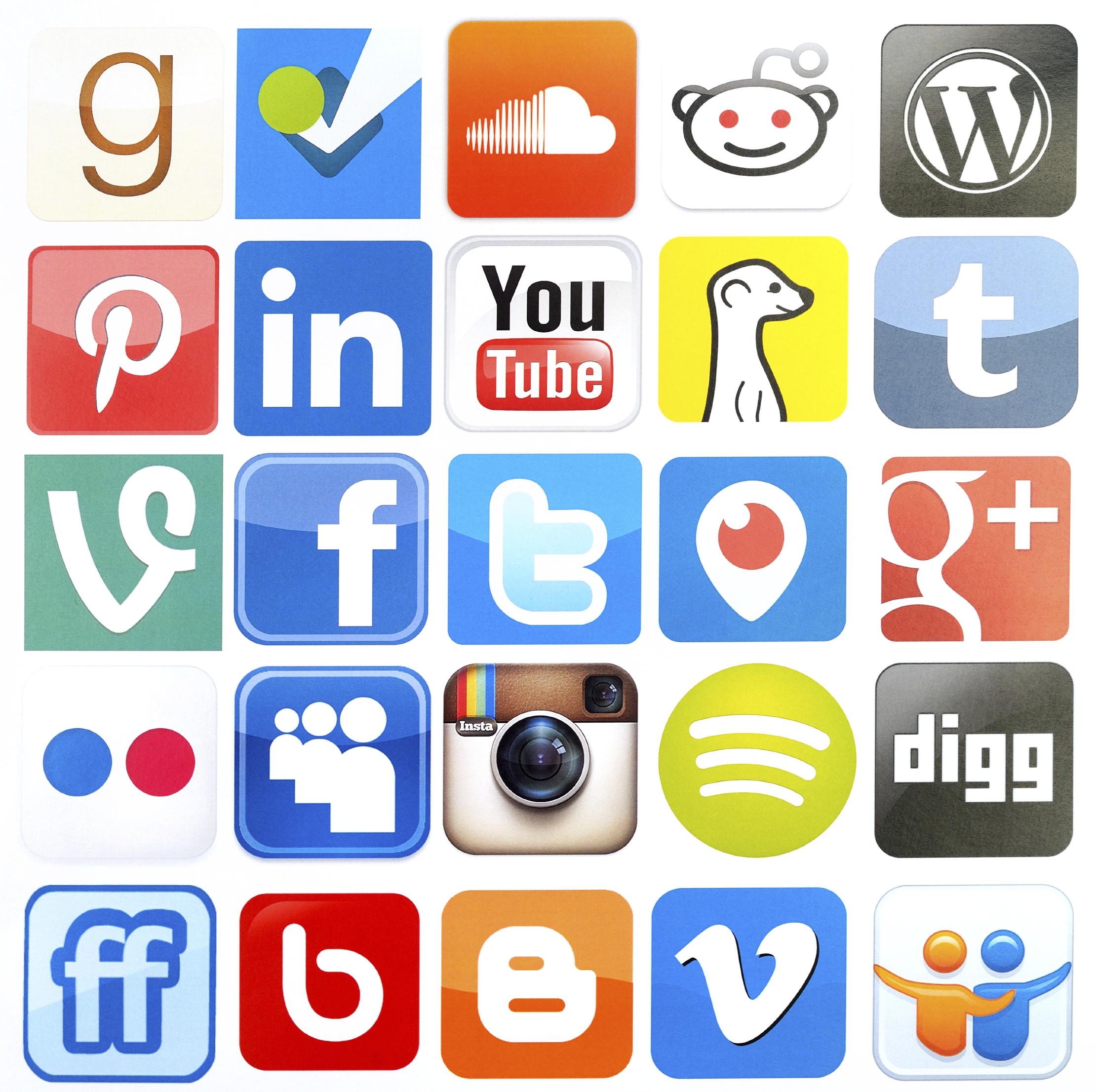 Sosiale medier kanaler