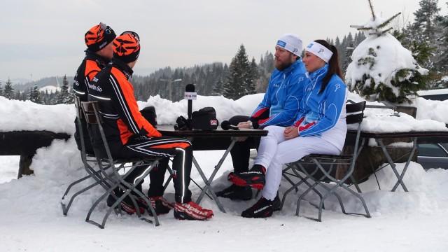 Carine og Åsmund var begge lutter øre da gutta fra Team Leaseplan Go delte sine beste tips.