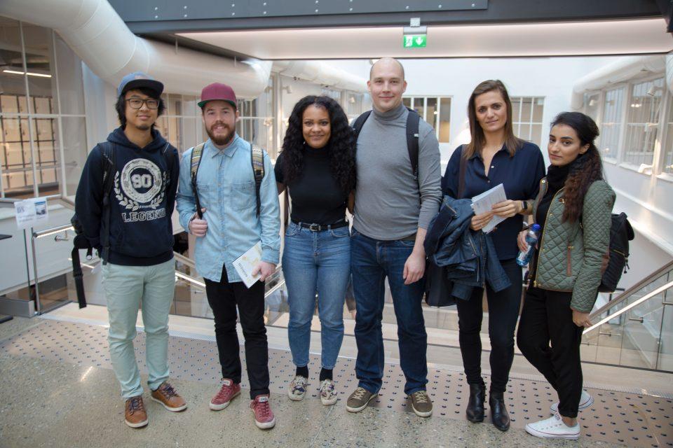 Westerdals studentene er klare for bachelor prosjekt hos Visma