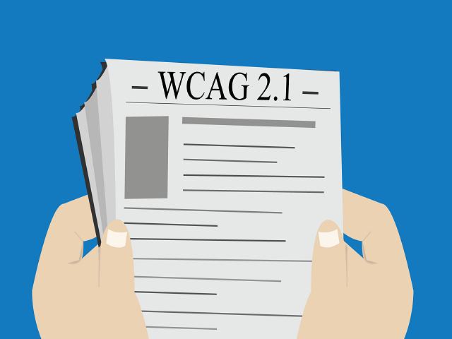 WCAG 2.1 illustrasjon