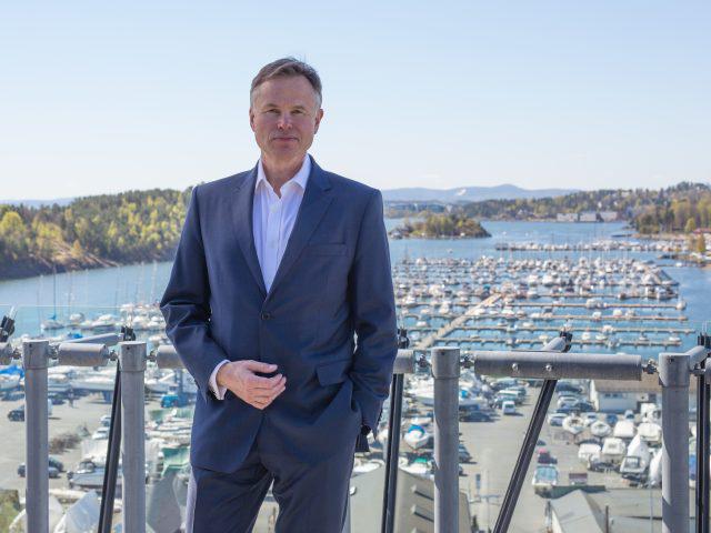 Konsernsjef Øystein Moan om Norges digitale status og digitalisering i offentlig sektor.