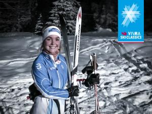 Benedikte Friis trener til prosjekt Ylläs-Levi