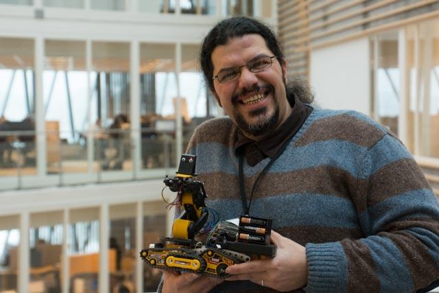 Roboten er integrert med Visma eAccounting