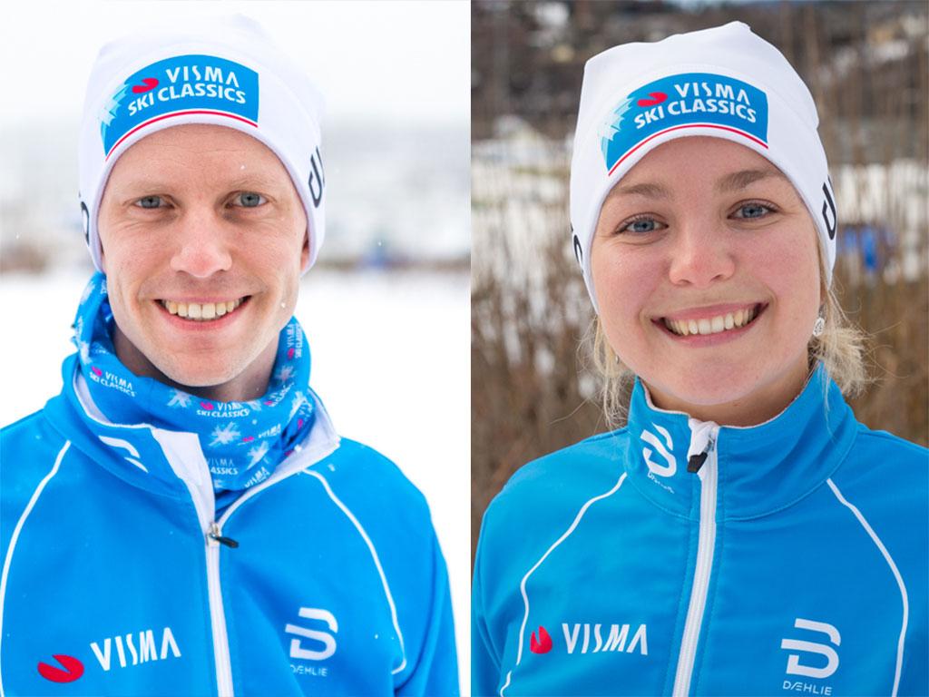 Fredrick Under én måned igjen til Fredrick Strøm og Benedikte Friis deltar i prosjekt Ylläs-Levi.