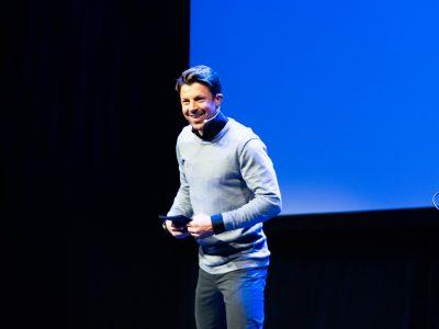 Nils Ingar Aadne var dagens konferansier