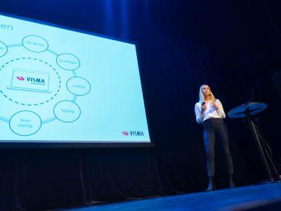 Emilie Røed presenterte flere spennende produktnyheter