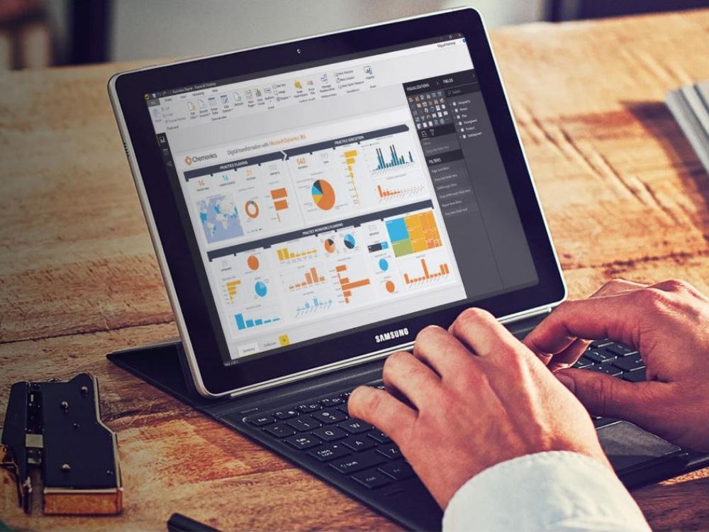 Microsoft Power BI screen