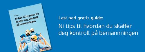 Link: Last ned gratis guide til bemanning her.