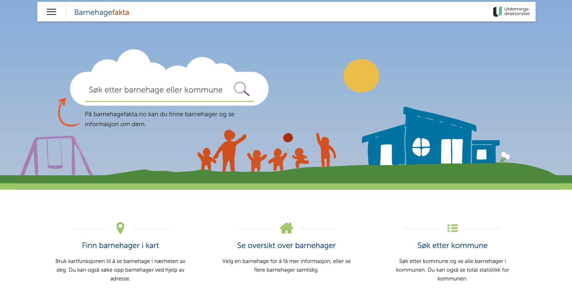 Barnhagefakta.no utviklet av Visma Consulting