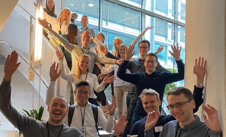 Sommerstudenter hos Visma Consulting sommeren 2020