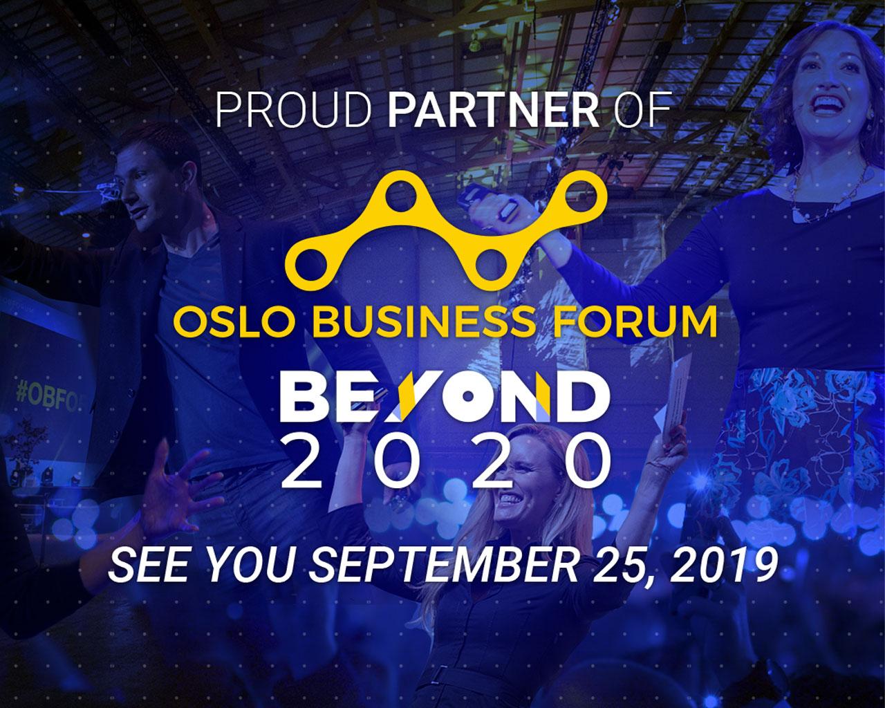 Møt oss på Oslo Business Forum