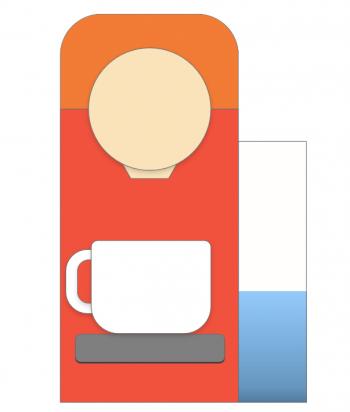 Designeksempel kaffekopp