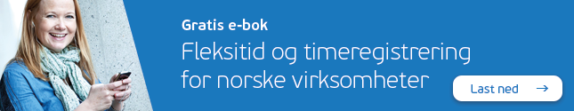 Gratis e-bok for Visma Tid