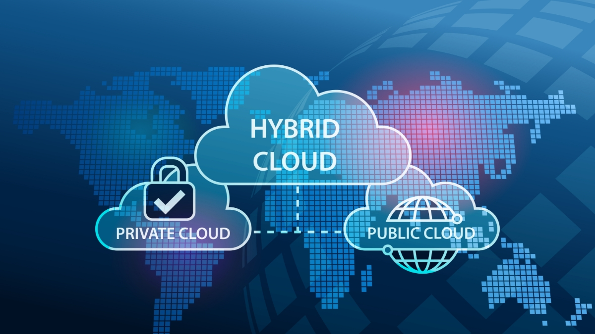 Fordeler med hybrid cloud