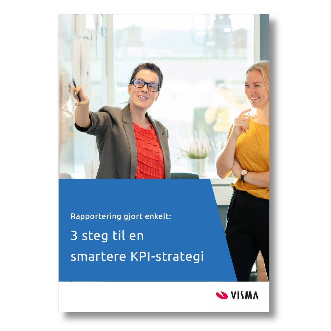 E-boken - 3 steg til en smartere KPI-strategi