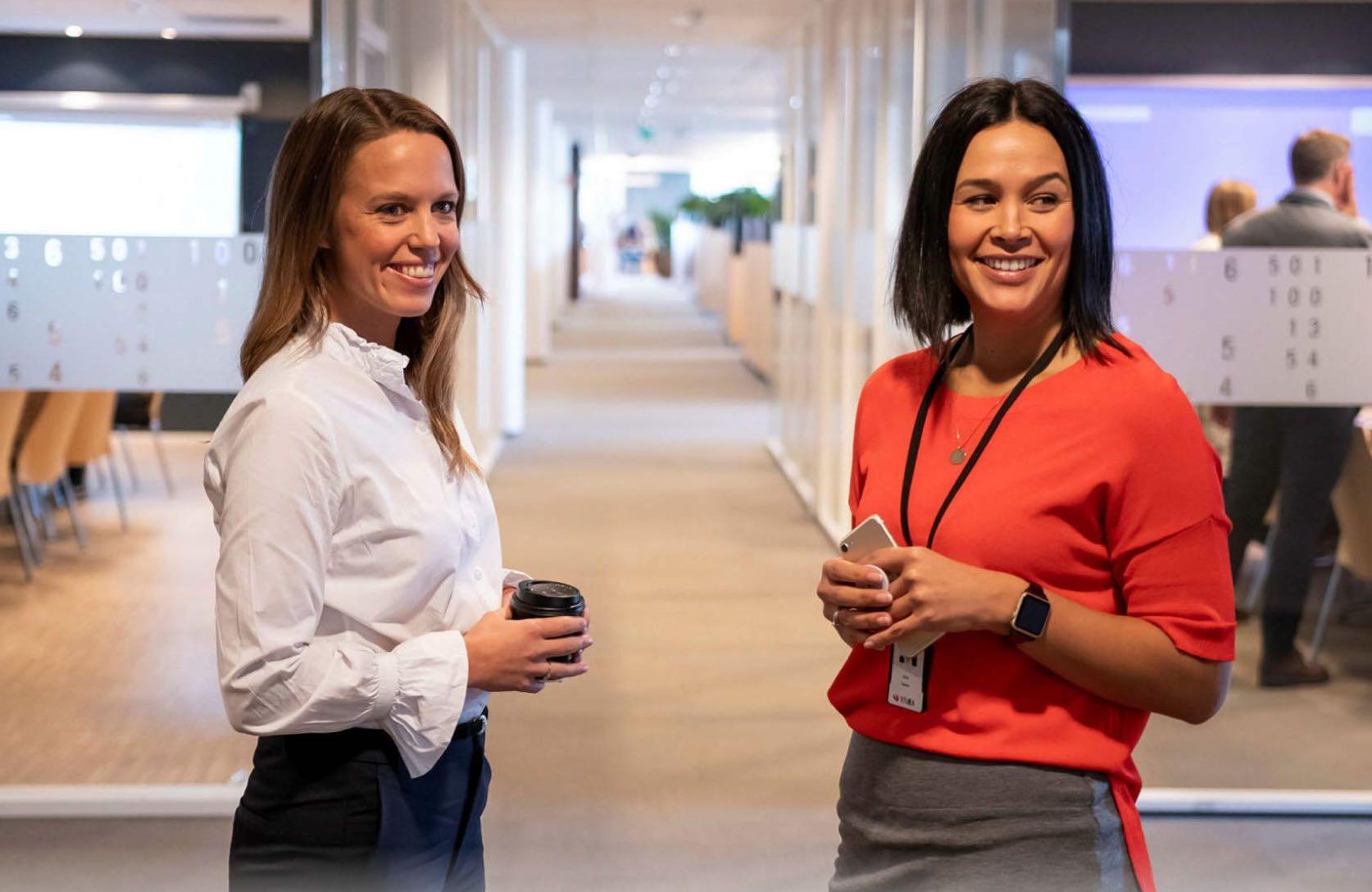 Finansavisen om Visma, kvinner i ledelse