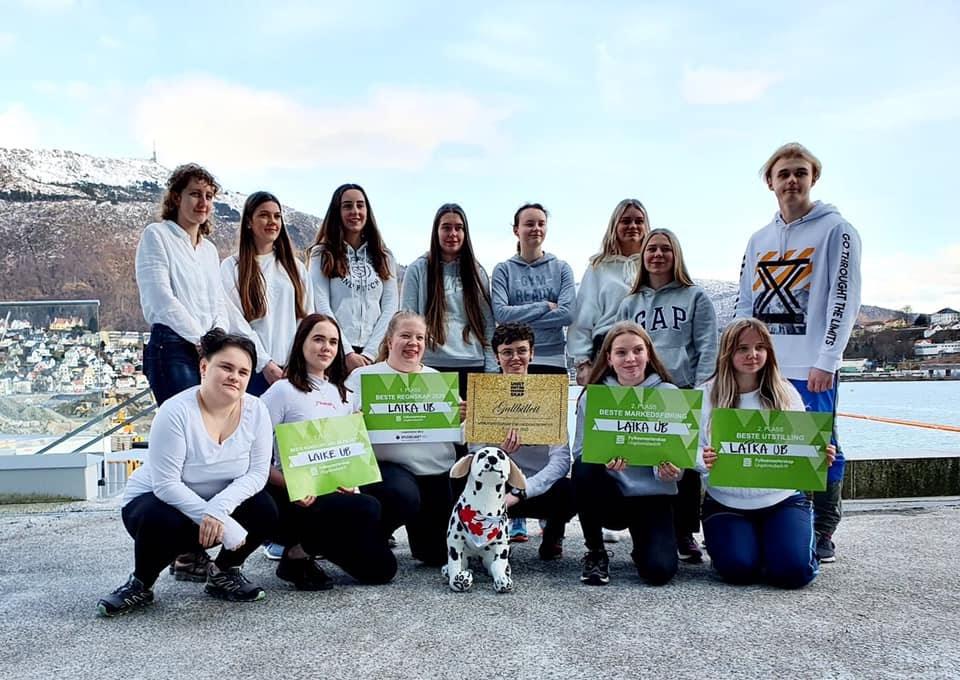 Elevene i Laika Ungdomsbedrift