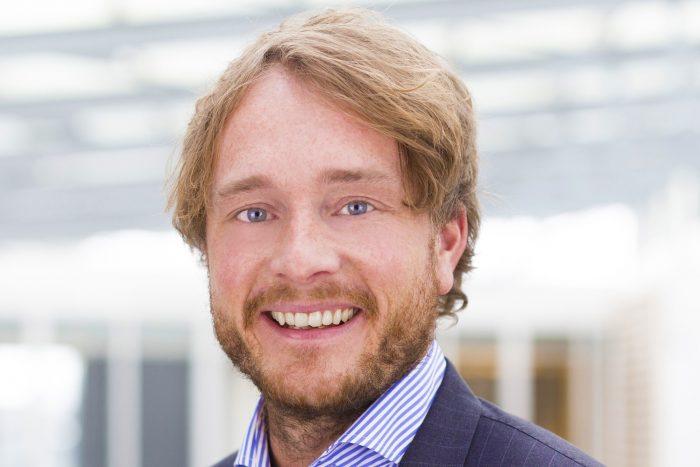 Øyvind Larsen, adm.dir. i Visma Softwaree