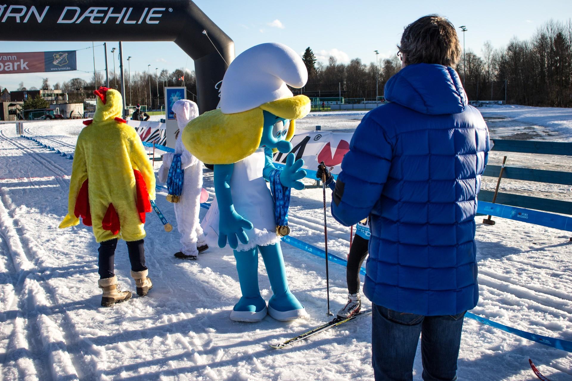 Visma Ski Classics 4 KIDS på Sognsvann