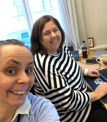 Marianne Torsvik og Vibeke Eriksen