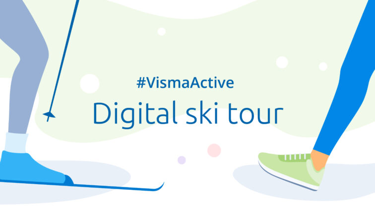 Visma active digital ski tour 2