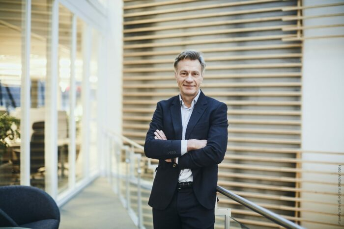 Direktør for utvikling: Jarle Roti i Visma