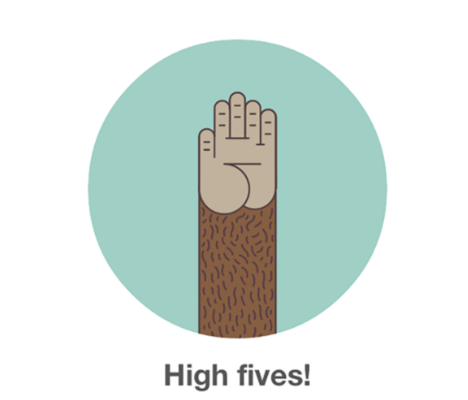 High five picture