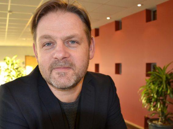 Espen Johansen, sikkerhetssjef i Visma