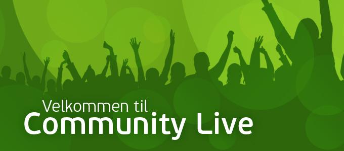 Les om Community Live 2018